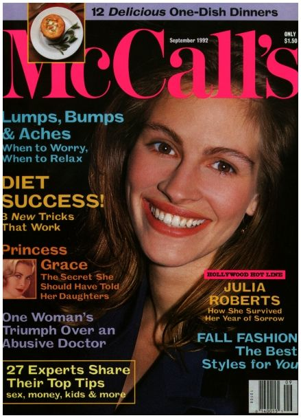 Julia Roberts Photo Album Magazine Covers